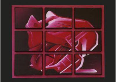 Naast het realiseren van schilderingen op muren, gevels, panelen enz.