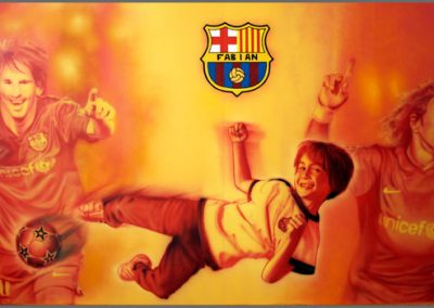 Project FABIAN MEETS FC BARCELONA